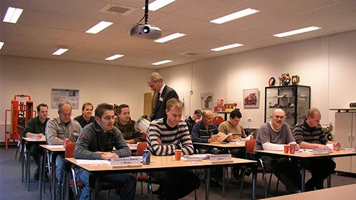 berko opleiding training instructieruimte