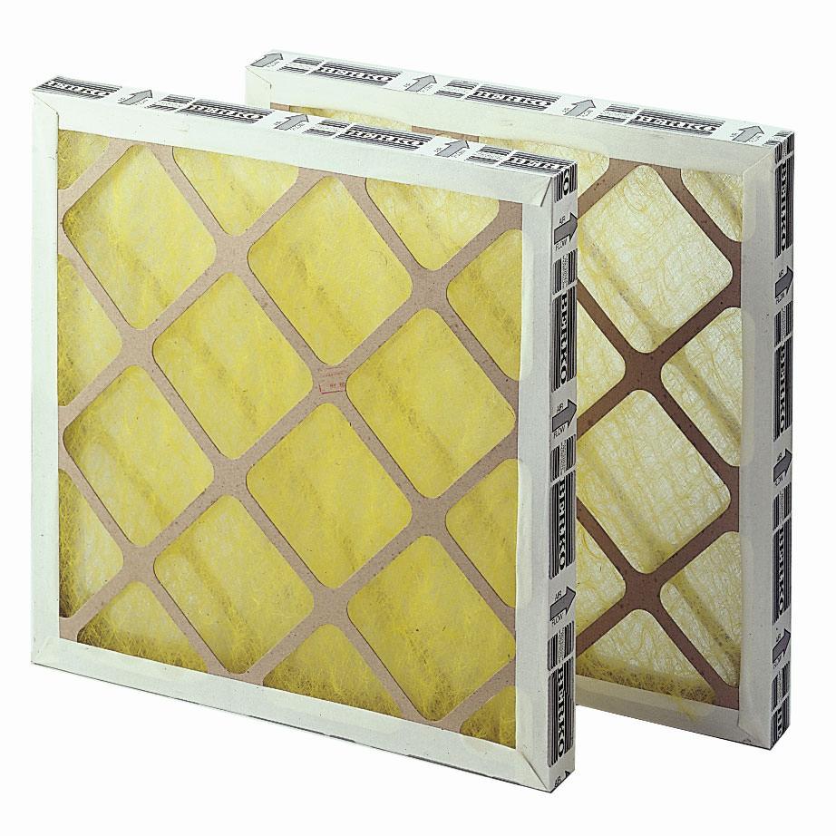 Filtercasette's / Raamfilters ten behoeve van aanzuigfilterkasten